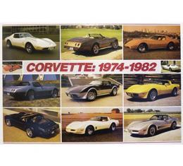 Corvette 1974-1982 Poster
