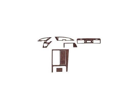 Corvette Dash & Trim Set, Burlwood, With Automatic Or ManualTransmission, 1994-1996