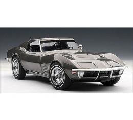 Corvette Die-Cast Model, Laguna Gray, T-Top, 1970