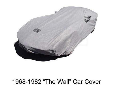 "Corvette Car Cover, ""The Wall"", Gray, 1953-2017"
