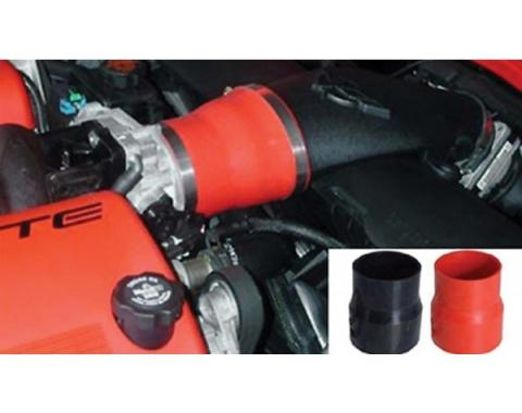 Corvette Hi-Flow Power Intake Coupler, Red, 1997-2004