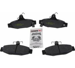 Hawk Disc Brake Pads, Rear, Ceramic| HB112Z.540 Corvette 1988-1996