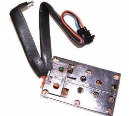 Corvette Speaker Amplifier, Front, Bose, 1984-1986Early