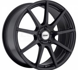 Corvette Wheel, Interlagos 19x9'', Matte Black, One Piece Wheel, 1984-2017