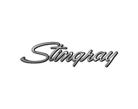 Corvette Decal, Stingray Script, 1969-1976