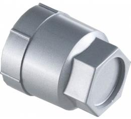 """Corvette Lug Nut Cap, Silver, Plastic, For Cars With 16"""" Wheels, 1988, 1990-1996"""