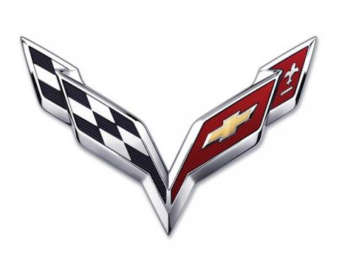 "Corvette Metal Sign, C7 40"" X 27"""