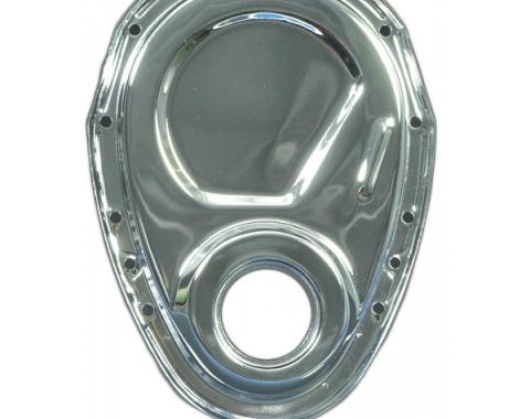 Corvette Timing Chain Cover, 327 Chrome, 1957-1982