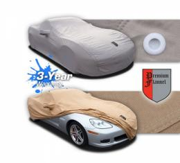 2015-2016 Corvette Z06 Premium Tan Flannel Car Cover
