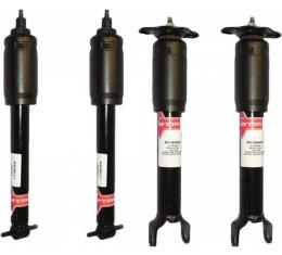 Corvette Shock Absorber Set, KYB, Gas-A-Just, Non-Sport, 1997-2004