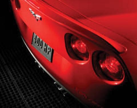 Corvette Spoiler, Rear Race, Full Width, Painted, 2005-2013