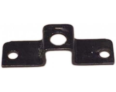 Corvette Spare Tire Carrier Lock Bolt Bracket, Rear, 1968-1979