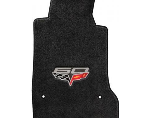 Lloyd Mats, Floor Mats With Embroidered 60th Anniversary Logo, Velourtex| V010 Corvette 2013