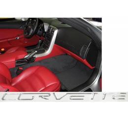 Corvette C6 Dash Lettering Kit, 2005-2013 | Chrome