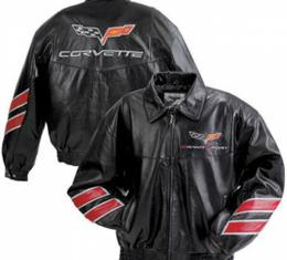 Corvette Lambskin Jacket, Grand Sport, Black