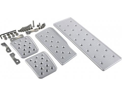 Corvette Racing Pedals Kit, Manual, 2005-2013
