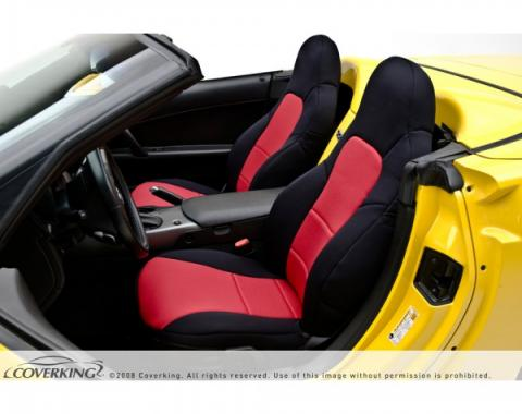Corvette Coverking Neosupreme Seat Cover, With Power Passenger Seat With Side Airbag, 2005-2011
