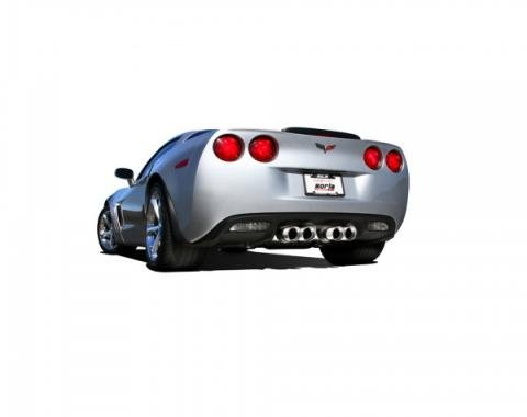 Borla Exhaust Systems Rear Section Exhaust, ATAK| 11812 Corvette 2009-2013