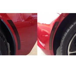 Corvette Side Marker And Rear Reflector Blackout Cover Kit, Full, Acrylic, 2014-2019