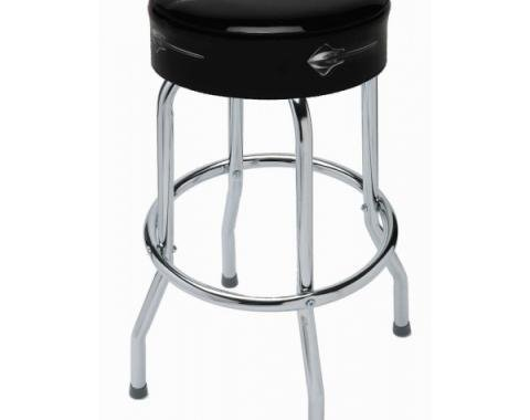 Corvette Bar Stool With C7 Stingray Logo