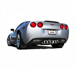 Borla Exhaust System Sport S-Type Series, With Quad Round Tips| 11766 Corvette 2009-2013