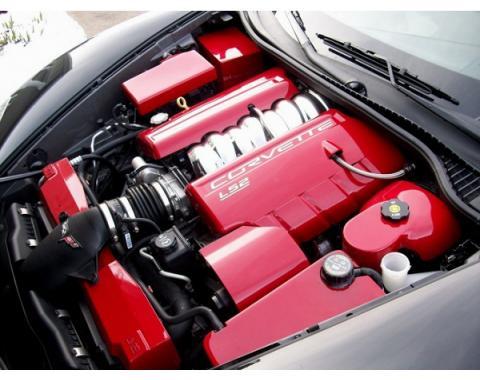 Corvette Body Color Engine Kit, LS2/ LS3, Pre-Painted, 2005-2013