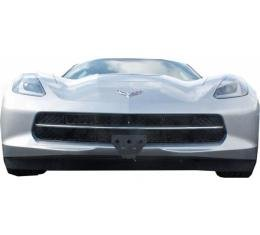 Corvette Sto N Sho Frame, Detachable, Front License Plate Holder/Bracket C7/Z06, 2014-2017