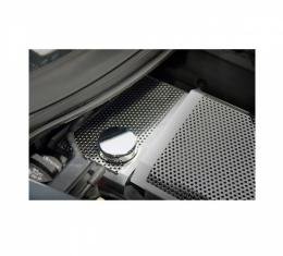 American Car Craft Water Tank Cover, Perforated / Brushed| 053063 Corvette Z06 & Z51 2014-2017