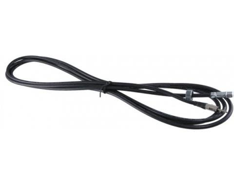 Corvette Antenna Cable, with Correct Nut, 1963-1966