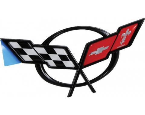 Corvette Waterfall Emblem, Coupe, 1997-2004