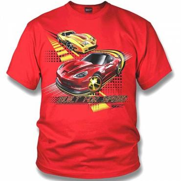 Corvette Kids Shirt - Corvette C6 & C3 - Built for Speed