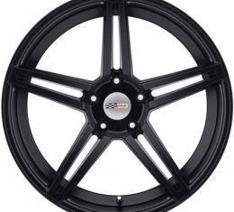 Corvette Wheel, Cray Brickyard, 20x10.5, Rear, Matte Black, 1984-2017