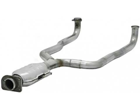 Flowmaster Catalytic Converter, Stainless| 2010028 Corvette 1986-1991