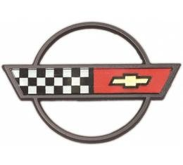 Corvette Horn Button Emblem, 1984-1989