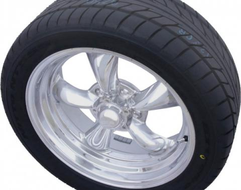 "Torq Thrust II Polished 17"" & Nitto NT555 Tires, Mounted & Balanced Pkg."