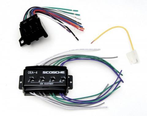 Corvette Speaker Interface, Bose, 1984-1989