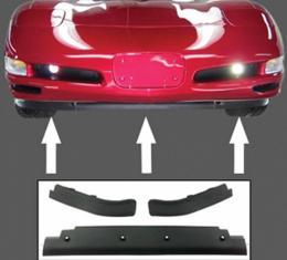 Corvette Spoiler, Replacement, Front, 3-Piece, 1997-2004