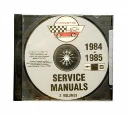 Corvette Factory Service Manual, PDF CD-ROM, 1984-1985