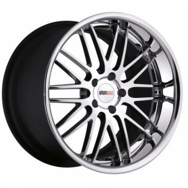 Corvette Wheel, Cray Hawk, 19x10'', Rear Only, Chrome, 2014-2017