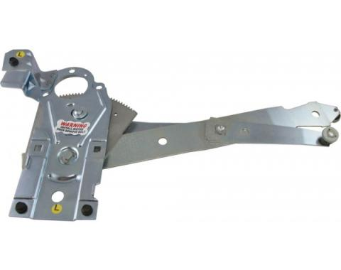 Corvette Power Window Regulator, Replacement, Left, 1968-1982