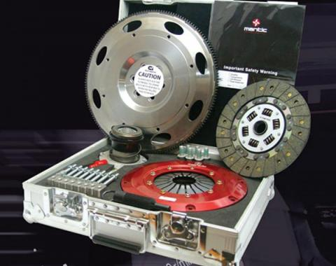 Mantic 9000 Series Twin Segmented Disc Clutch Kit With Uprated Pressure Plate, 1997-2004