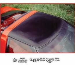 Corvette Roof Panel, Smoke Gray Acrylic, Show Quality,1984-1986Early