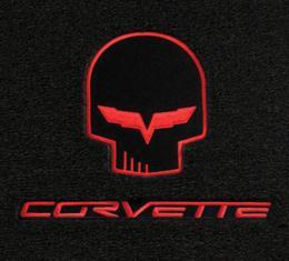 Lloyd Mats, Floor Mats With Jake / Racing Logos, Ebony  238118 Corvette 2005-2007Early