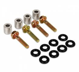MSD AirForce LS2 Fuel Rail Adapter Kit For LS1 Injectors | 2705 1997-2007