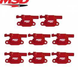 Blaster LS Coil Set For GM LS2/LS3/LS4/LS7/LS9 | MSD 82658 05-13