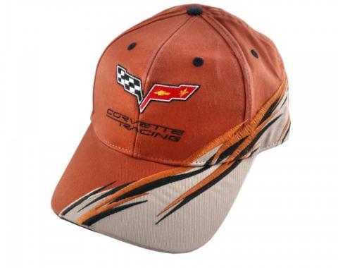 Corvette C6 Cap, Racing, Orange