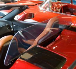 Corvette Convertible Wind Deflector, Frameless, VetteNet, 2014-2017