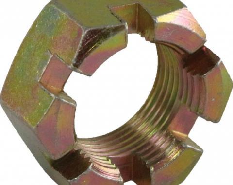Corvette Wheel Spindle Flange Nut, Front/Rear, 1963-1982