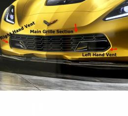 Corvette Z06 Front Grille, Solid Body Color, 2014-2017
