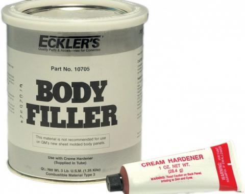 Body Filler, Quart